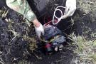 Infante de Marina resultó herido tras pisar mina antipersona