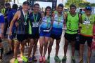 Los triatletas de Santander viajaron sin apoyo y regresaron con medallas