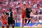 Sin James en la cancha, el Bayern goleó el Eintracht Fráncforte por la Bundesliga