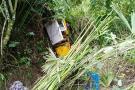 Falleció el conductor del Jeep que rodó 40 metros por un barranco en Santander