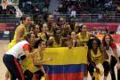 Colombia, campeón del baloncesto femenino en los Juegos Suramericanos