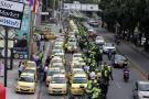 Taxistas levantan otro paro que dejó trancones, grescas y heridos en Bucaramanga