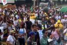 Tres horas estuvo bloqueada la carrera 27 con calle 36 por plantón del páramo de Santurbán