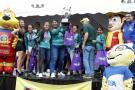 Las reinas y los supercampeones del Torneo Interbarrios