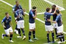 Francia debutó con victoria 2-1 ante Australia