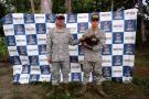 Armada Nacional rescató dos especies en peligro en el Pacífico colombiano