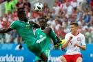 Senegal dio la sorpresa al vencer 2-1 a Polonia en el grupo de Colombia