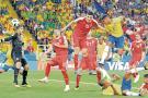 Brasil esquivó las sorpresas y clasificó a los octavos de final