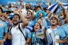 Con dos goles de Cavani, Uruguay venció 2-1 a Portugal