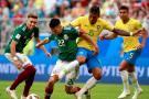 Brasil venció a México y se enfrentará a Bélgica en cuartos de final