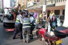 En promedio diario, Tránsito sanciona a 95 motociclistas en Bucaramanga
