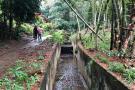 Comuna Sur de Bucaramanga solicitó a AMB la protección de un afluente