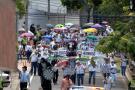 Maestros de Santander se unieron al paro de 24 horas
