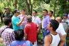 En San Gil, 19 familias afectadas por avalancha deberán desalojar