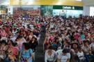 Cerca de 600 mujeres participaron de tercera Lactatón en Piedecuesta