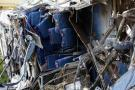Bus accidentado en Ecuador transportaba 80 kilos de cocaína: Fiscalía