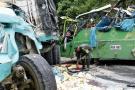 Cinco personas perdieron la vida y 29 más resultaron heridas.