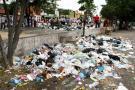 Así se encuentran acumuladas las basuras en algunos sectores de girón.