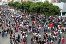 Así se vivió la marcha estudiantil en Bucaramanga