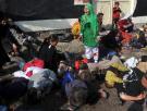 """Massoud Hossaini ganó el premio Pulitzer en la categoría """"Fotografía de noticia de última hora"""" con esta imagen, tomada tras un atentado con coche bomba en la capital de Afganistán."""