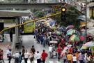 Congestión navideña se tomó el Centro de Bucaramanga