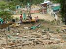 Imágenes que deja el desalojo de un predio invadido en Bucaramanga