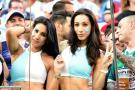 Hinchas argentinas se convierten en la sensación en la final de la Copa América