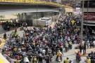 Imágenes de los transportadores informales que se tomaron Bucaramanga