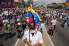 Continúan las marchas contra el régimen de Maduro en Venezuela