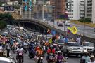 Imágenes de las caravanas contra Maduro que se tomaron Venezuela