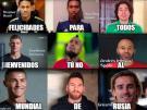 Vea los divertidos memes del Sorteo del Mundial Rusia 2018