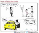 """Caricaturista le responde a Diputada de Santander que dice haber """"recuperado"""" identidad de homosexuales"""