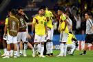 Así sufrieron la derrota ante Inglaterra los jugadores de la Selección Colombia