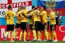 Las mejores imágenes del triunfo de Bélgica ante Inglaterra