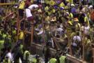 Así fueron los desmanes en partido amistoso entre Bucaramanga y Nacional