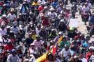 Video registró el 'plan tortuga' de los motociclistas en Bucaramanga