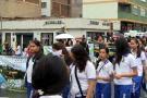 Estudiantes marcharon contra la tala de árboles que contempla proyecto vial