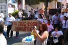 Población con discapacidad de Bucaramanga protestó contra Teletón