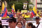 """Opositores al Gobierno le dijeron """"No más"""" a las Farc y a Santos"""