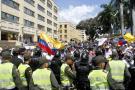 Transportadores informales bloquearon la movilidad en Bucaramanga