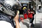 Cámara registró robo a una mujer en el Diamante II de Bucaramanga