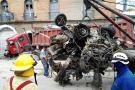 Así fue el trágico accidente de una tractocamión sin frenos en San Gil