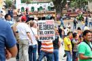 Comerciantes del Centro de Bucaramanga muestran su inconformidad por nuevo Pico y Placa