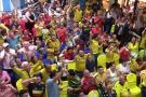 Bumangueses vivieron el 'calor' de la victoria de la Selección Colombia