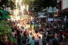 El caos se tomó el centro de Bucaramanga