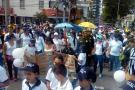 Bumangueses marcharon en apoyo a la Policía, tras los atentados del Eln