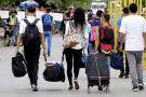 """""""Queremos ser reconocidos como refugiados"""": Venezolanos en Bucaramanga"""