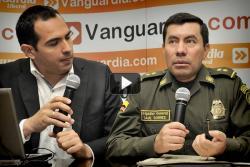 Comandante de Policía respondió dudas sobre seguridad de bumangueses