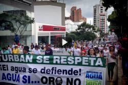 Vea la transmisión de la marcha por la defensa del Páramo de Santurbán