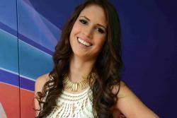 Nueva Señorita Santander habló en Vanguardia TV